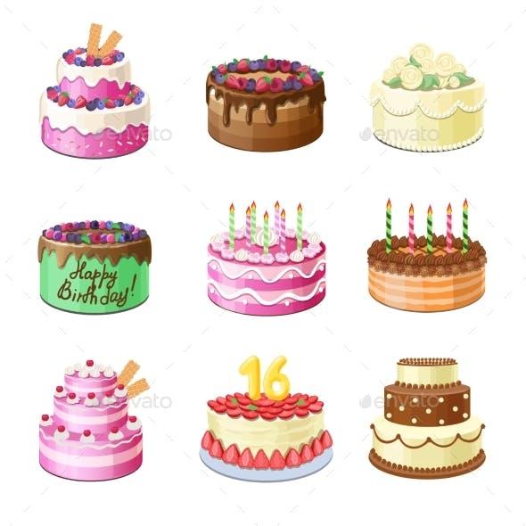 Cartoon Cakes