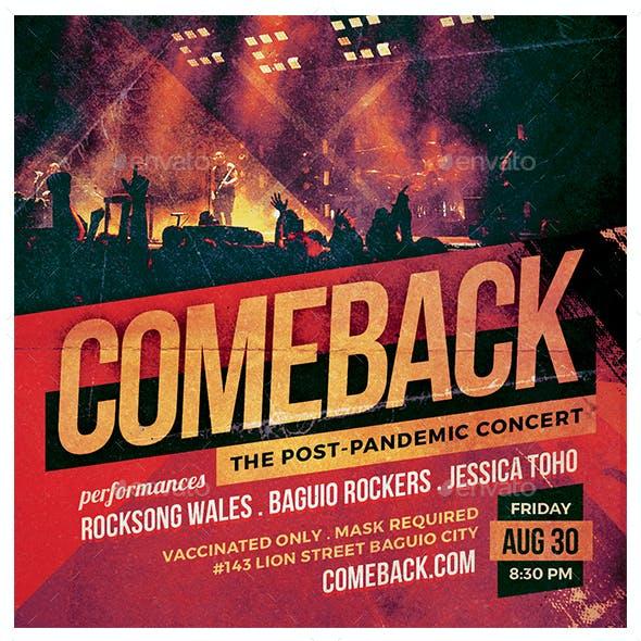 Comeback Flyer