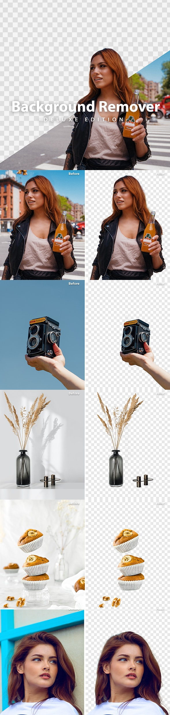 Background Remover Action | Deluxe Edition - Photo Effects Actions