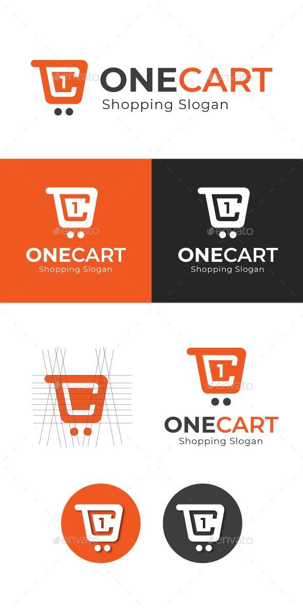One Cart Shopping logo - Symbols Logo Templates