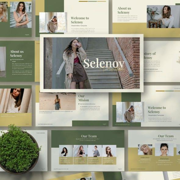 Selenoy Creative Powerpoint Template