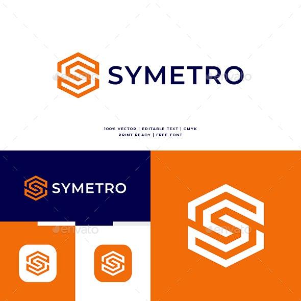 Geometric S Letter Logo - Letters Logo Templates