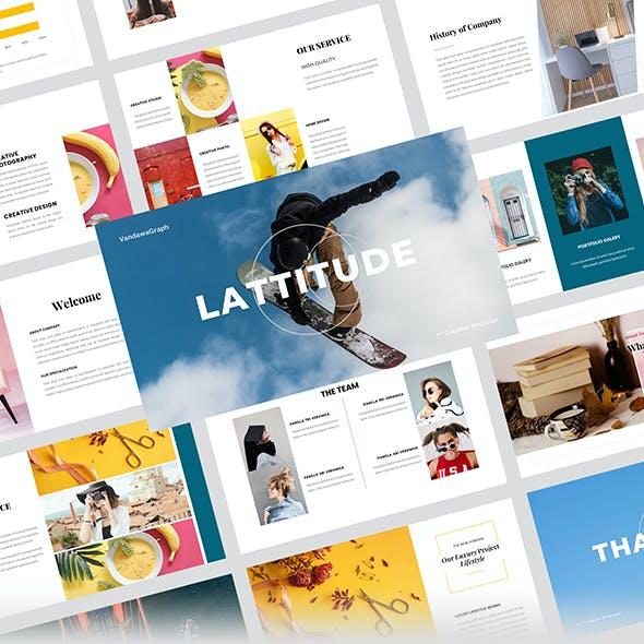 Lattitude – Creative Business PowerPoint Template