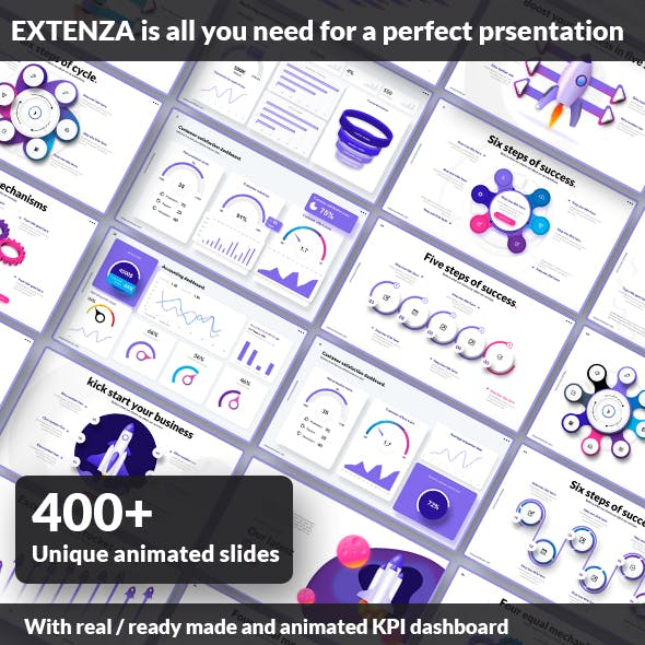 Extenza - Ultimate Presentation Template Package