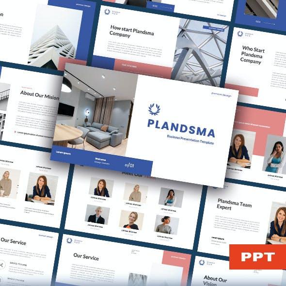 Plandsma – Business PowerPoint Presentation Template