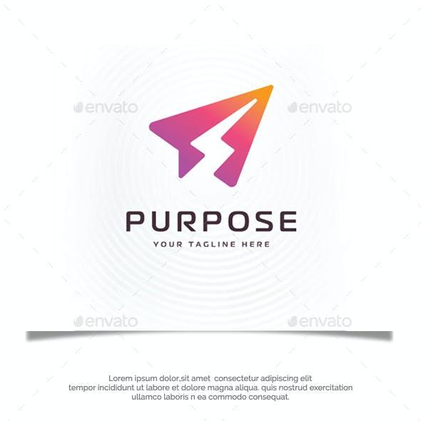 Light Purpose Logo