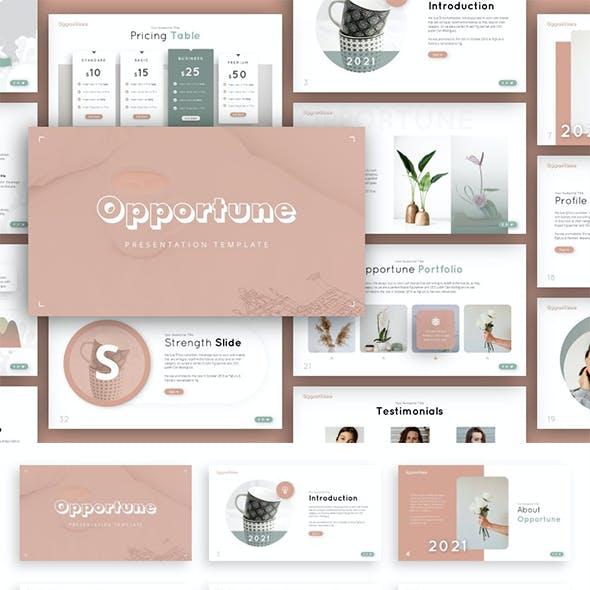 Opportune Multipurpose Presentation Template