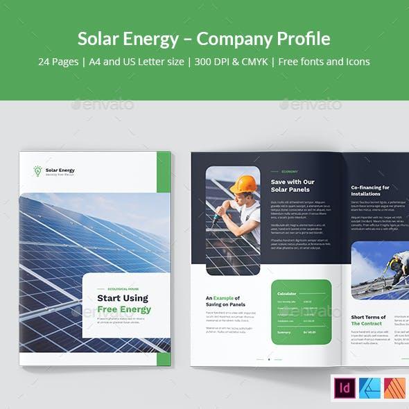 Solar Energy – Company Profile