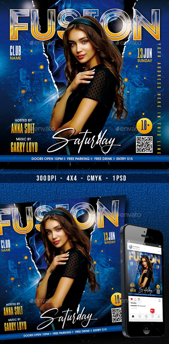 Club Night Party - Clubs & Parties Events