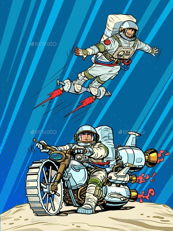 Astronauts on Space Transport - Technology Conceptual