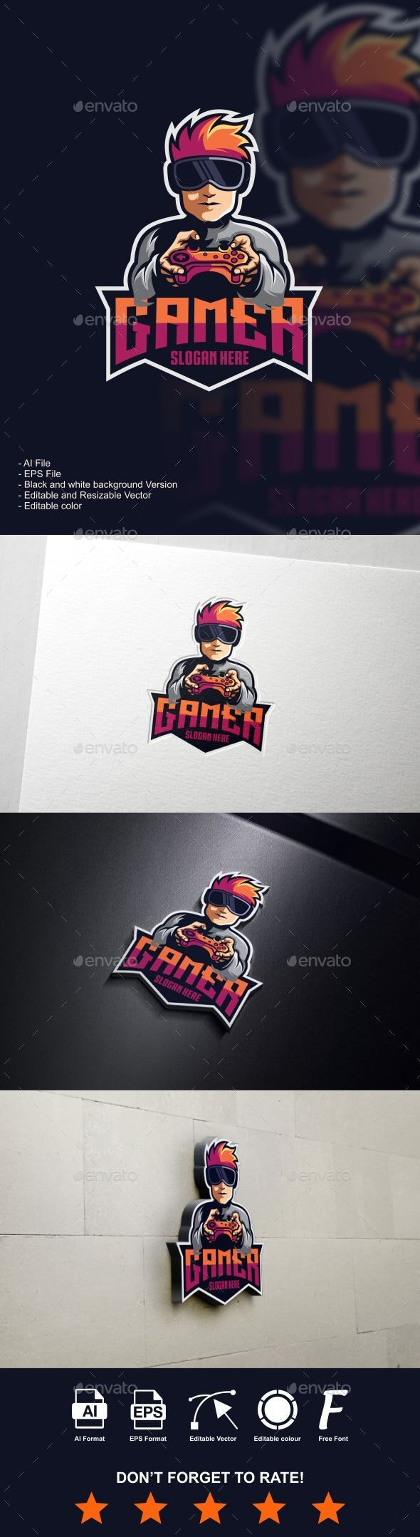 gamer logo - Logo Templates