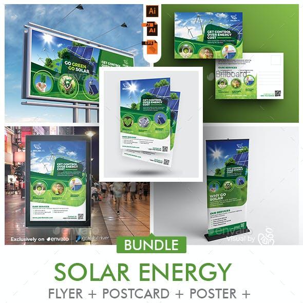Solar Energy Promotional Print Templates