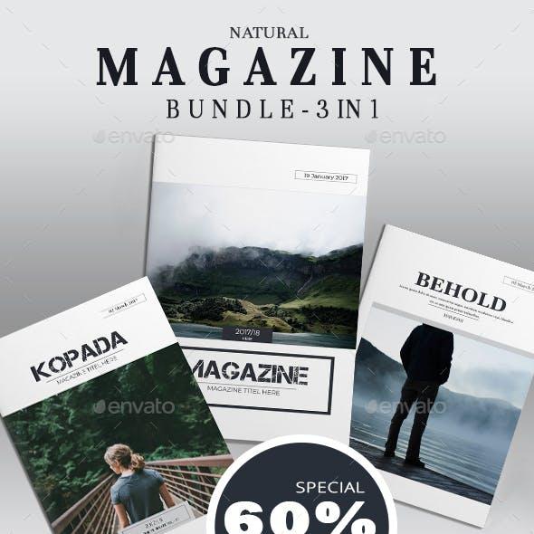 Natural Magazine Bundle