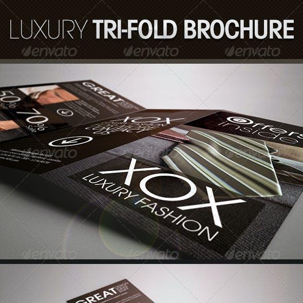 Luxury Trifold Brochure