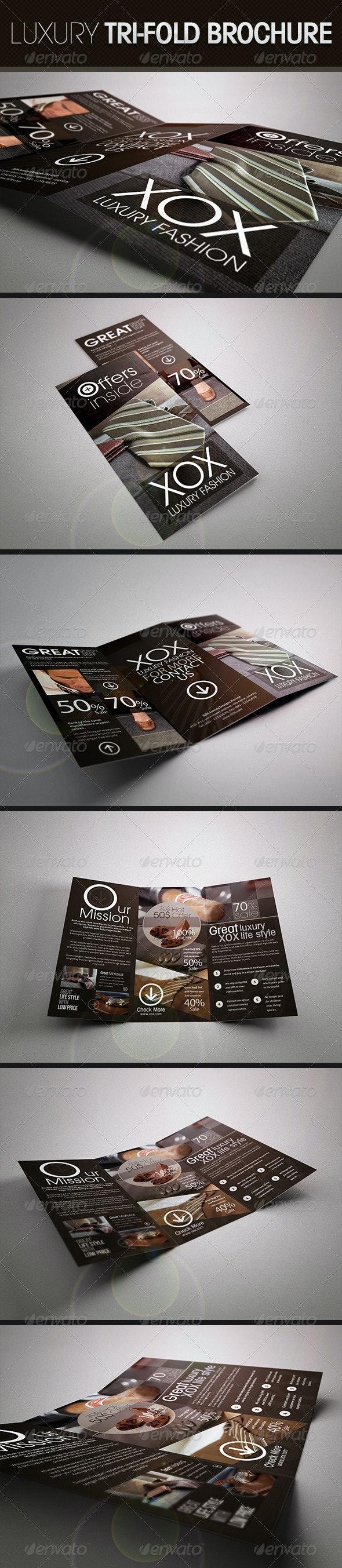 Luxury Trifold Brochure - Corporate Brochures