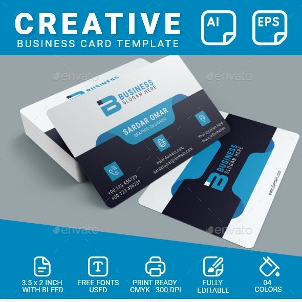 Corporate Identity Business Card