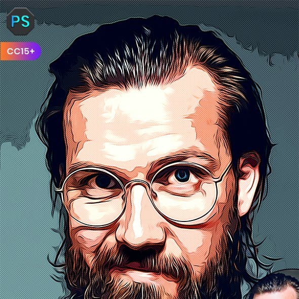 Magic Vector Painting Photoshop Action