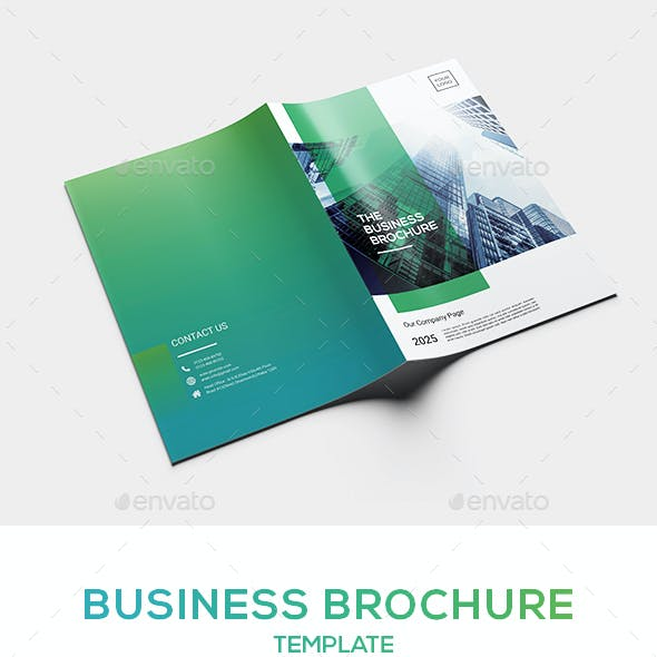 Business Brochure Template Vol. 2