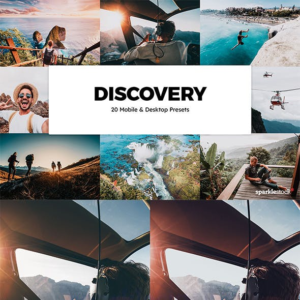 20 Discovery Lightroom Presets & LUTs