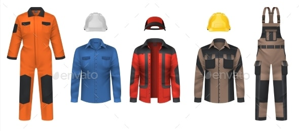 Realistic Workwear - Man-made Objects Objects
