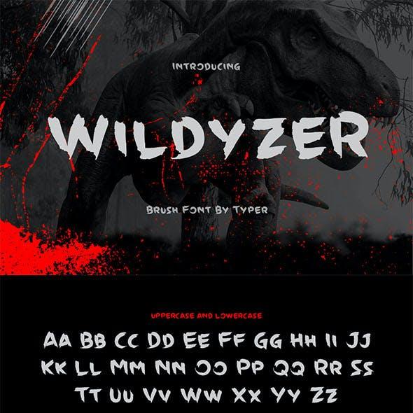 Wildyzer Brush Font