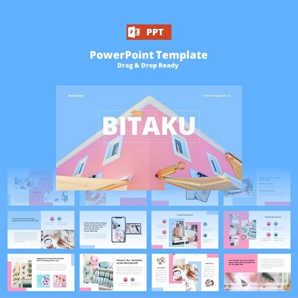 Bitaku Creative PowerPoint Template