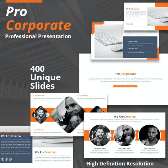 Pro Corporate Powerpoint Template