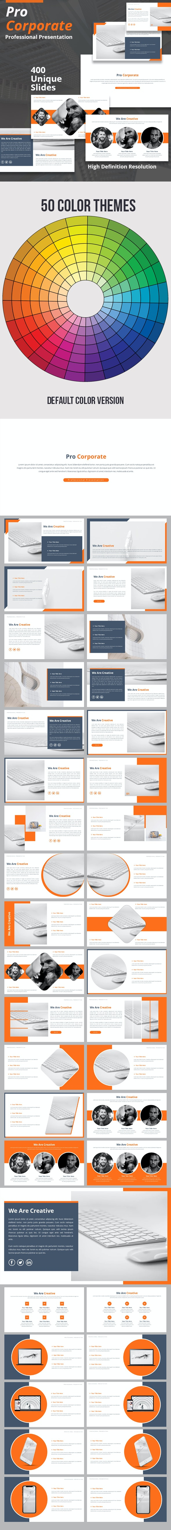 Pro Corporate Powerpoint Template - Business PowerPoint Templates