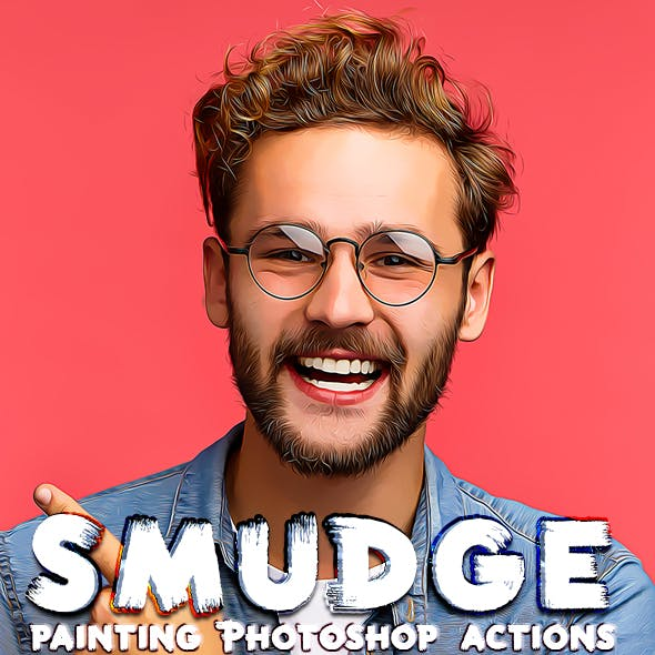 Smudge Painting Photoshop Actions
