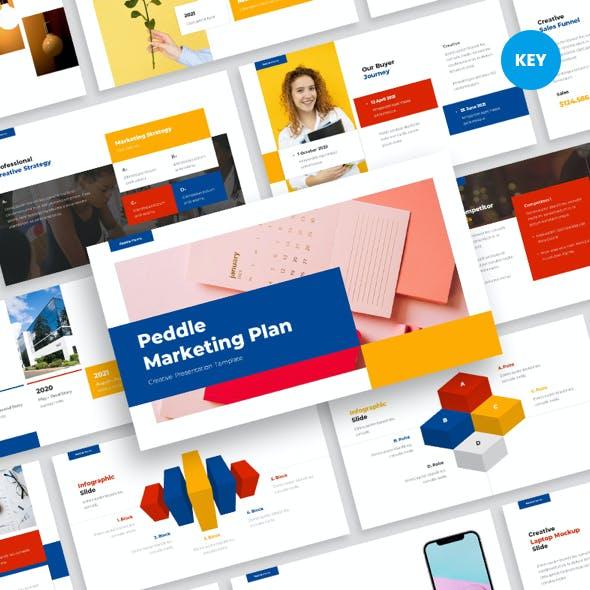 Marketing Plan Keynote Template