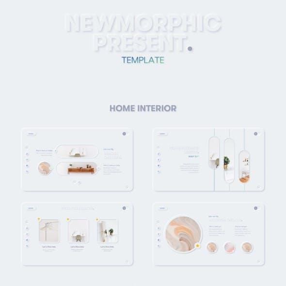 Newmorphic Presentation Template