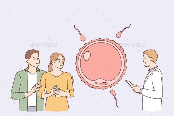 Human Reproduction Children Planning Concept - Health/Medicine Conceptual