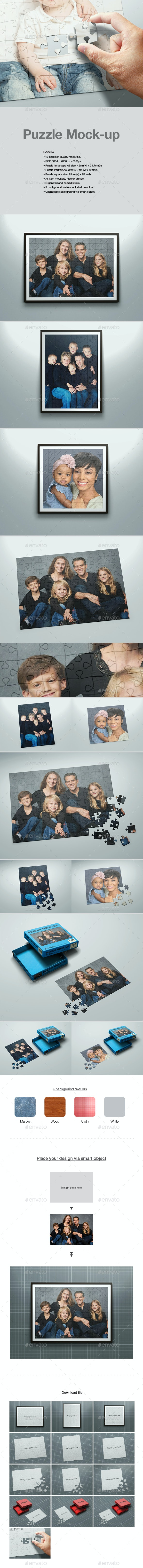 Puzzle Mock-up - Miscellaneous Print
