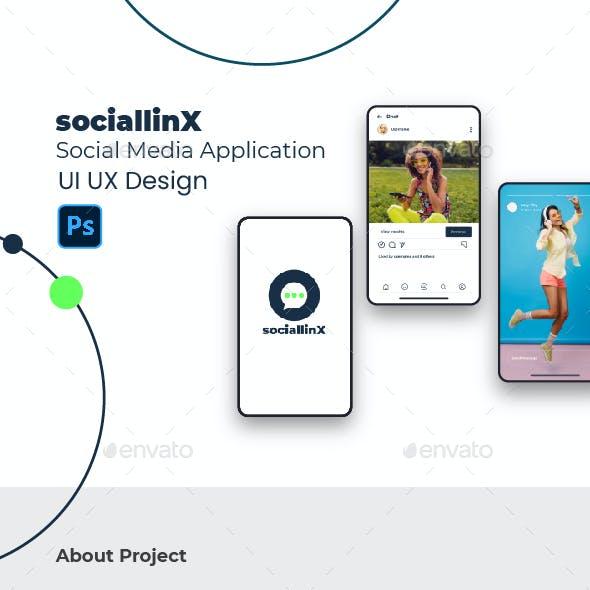 Sociallinx Social Media Application