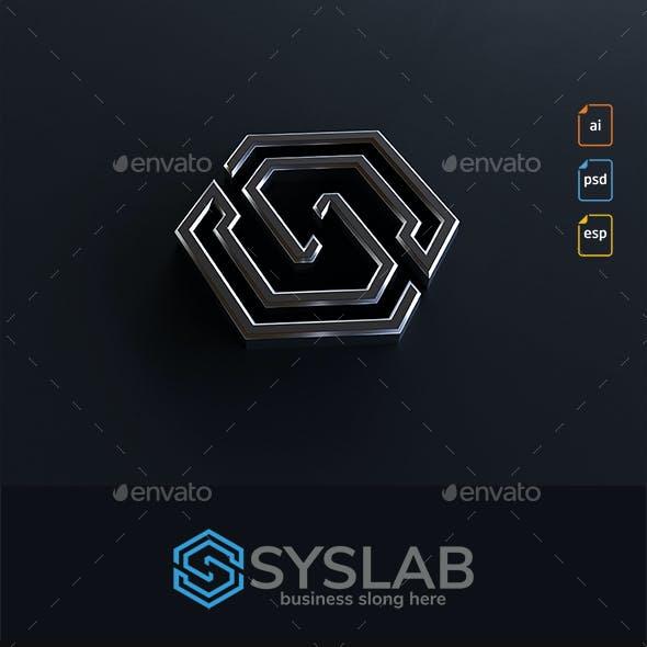 S Letter Logo Syslab