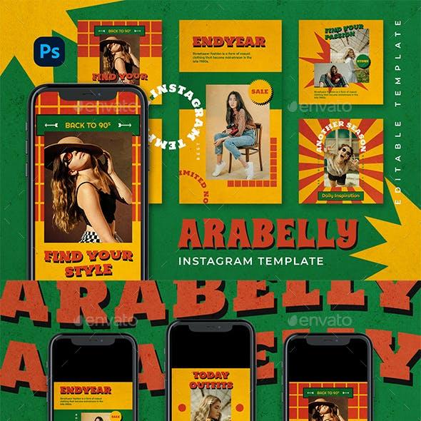 Arrabelly Instagram Template