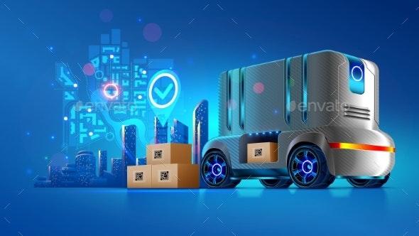 Autonomous Delivery Vehicle of Future - Technology Conceptual