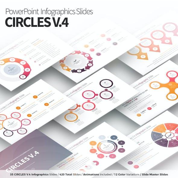 Circles V.4 - PowerPoint Infographics Slides