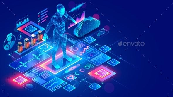 Medicine Internet Service - Technology Conceptual