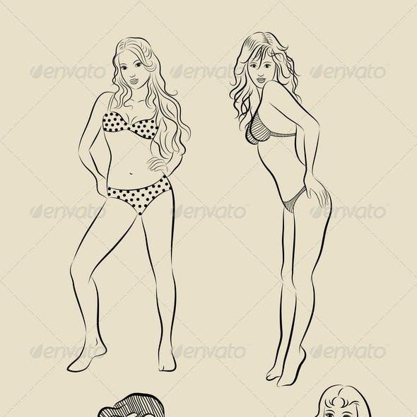 Sexy Girls Sketch