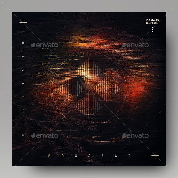 Project X – Electronic Music Album Cover Template