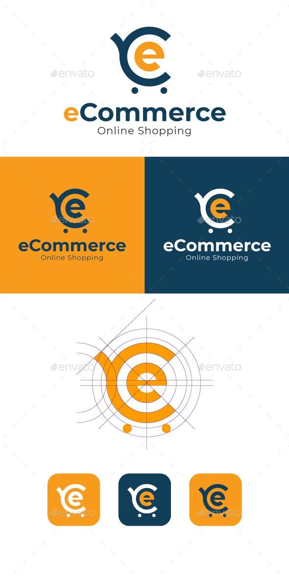 e-Commerce Logo - Letters Logo Templates