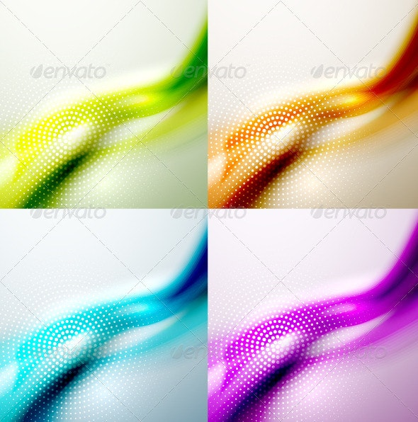 Creative Wave Backgrounds - Backgrounds Decorative