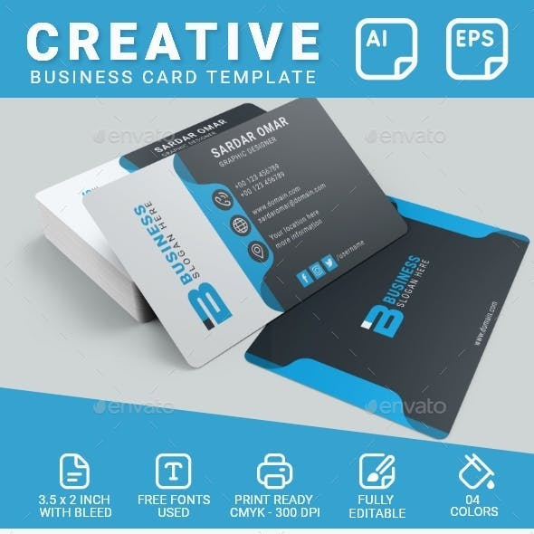 Business Card - Corporate Identity Template