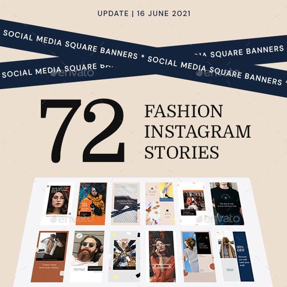 Fashion Instagram Story Templates