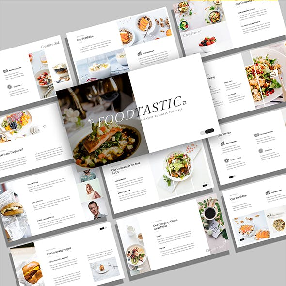 Foodtastic – Creative Business Powerpoint Template
