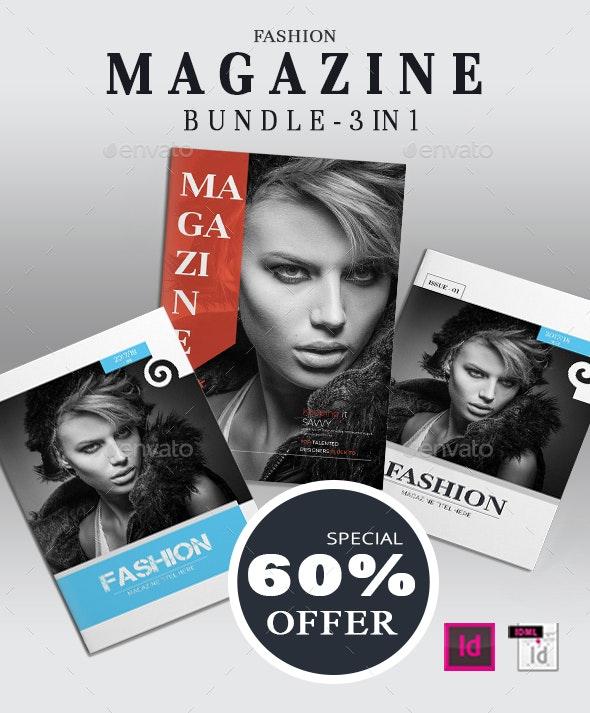 Fashion Magazine Bundle - Portfolio Brochures