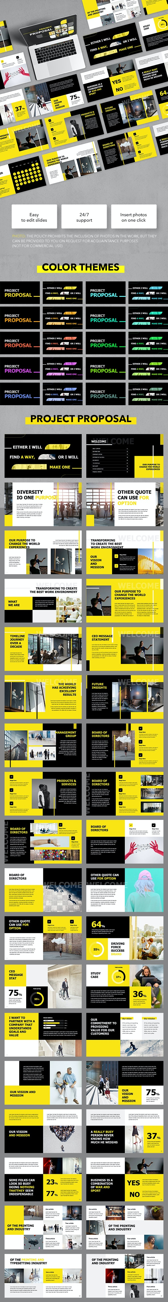 Project Proposal - Business Keynote Templates
