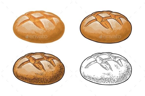 Rye Bread - Food Objects