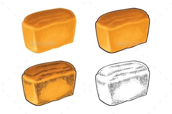 Loaf of Bread - Food Objects